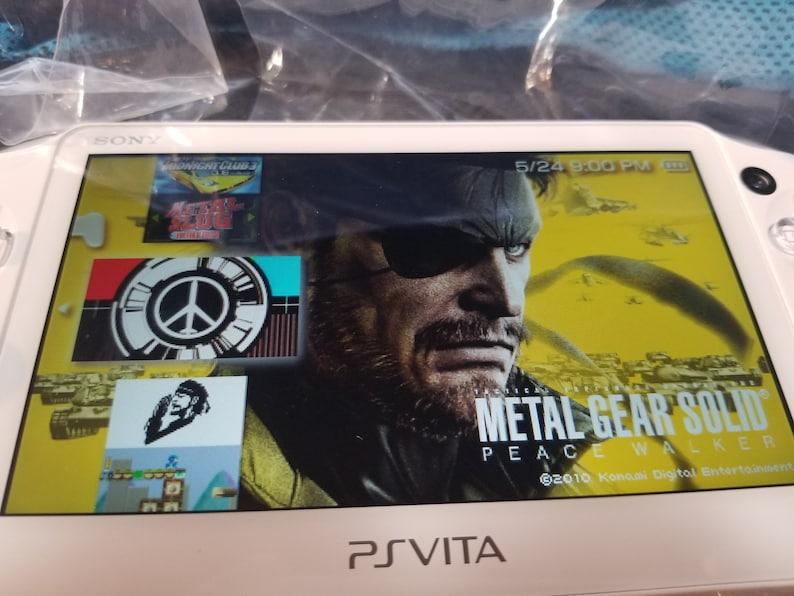 New Mint PS Vita 2000 Slim Henkaku Enso Modded Retro Game Console w/ 200GB,  256GB or 400GB Memory PSP PS1 SD2Vita 2TB HD available