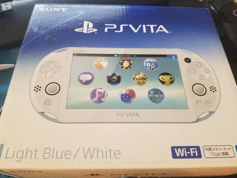 New Mint PS Vita 2000 Slim Henkaku Enso Modded Retro Game Console w/ 200GB,  256GB or 400GB Memory PSP PS1 SD2Vita 2TB HD available