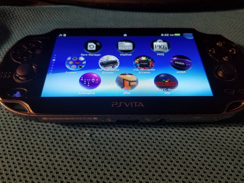 Excellent PS Vita 1000 OLED Henkaku Modded Retro Game Console w/ 128GB,  200GB or 256GB or 2TB, Memory PSP PS1 SD2Vita