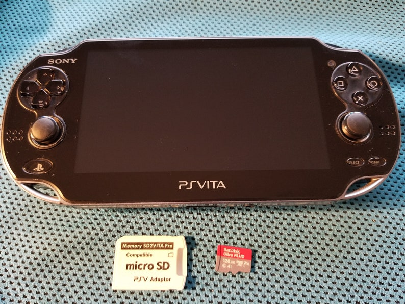 No scammers!! Excellent PS Vita 1000 Black White OLED Henkaku Modded Retro  Game Console w/ 128GB, 200GB or 256GB, PSP PS1 SD2Vita 2TB