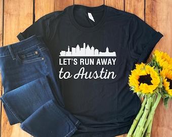 S HPurple Austin Ink Apparel City of Round Rock Texas Printed Unisex Tank Top