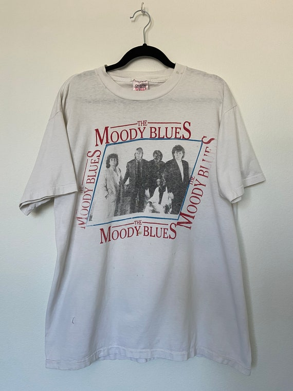 Vintage 1990's Moody Blues Distressed Band T-Shirt