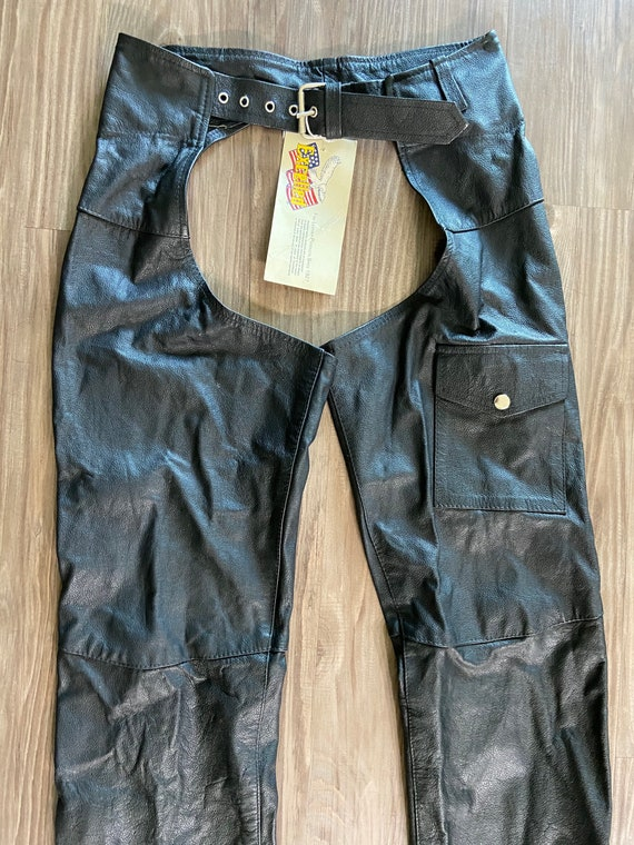 Vintage Excelled Leather Chaps with Tag