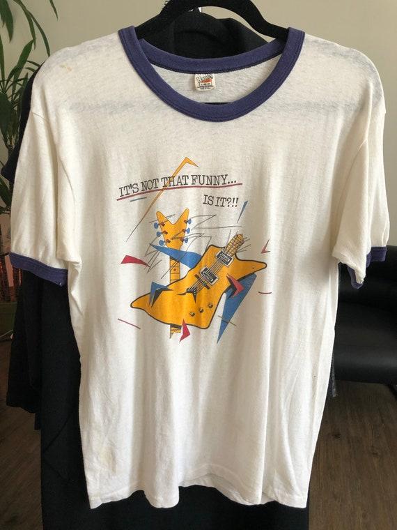 "Vintage 1970's Fleetwood Mac ""Tusk"" Graphic T-Shir"