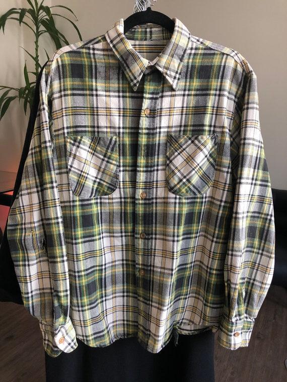 Vintage 1980's-1990's Plaid Flannel