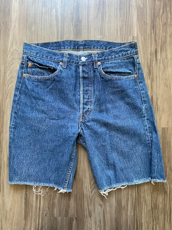 Vintage Levi's 501 Denim Cut Off Jean Shorts