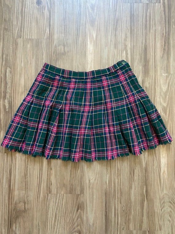 Vintage Pendleton Classic Plaid School Girl Tennis
