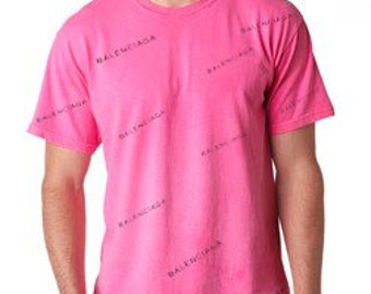 55cbc1f24 Soft and Comfortable Unisex Men or Women inspired Balenciaga logo Tshirt in  all colors and sizes XS-6XL