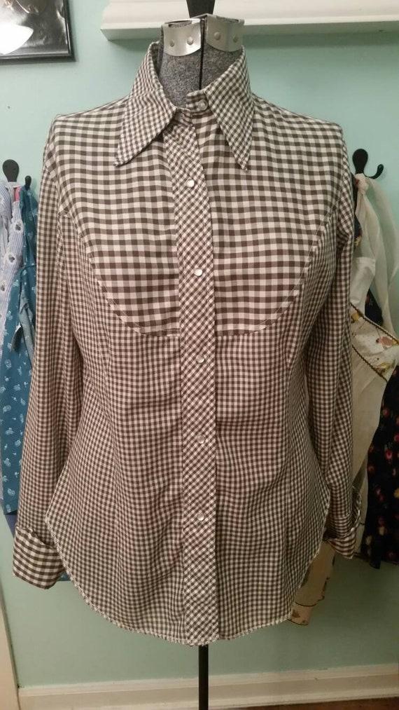 Vintage Fenton western pearl snap shirt / vintage