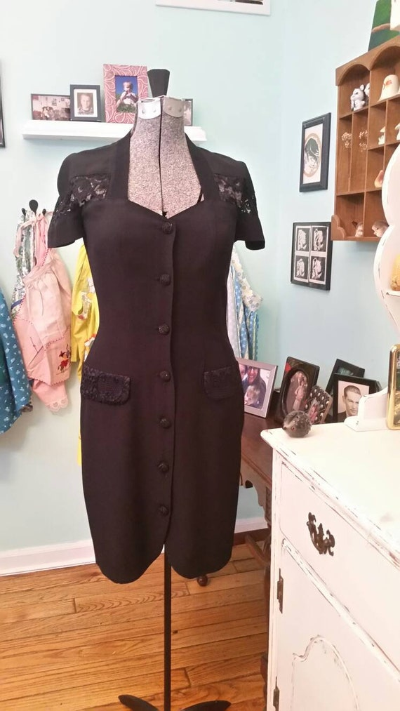 Vintage All That Jazz made in California dress / s