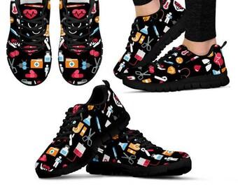 ae939f838bcaf Nurses shoes   Etsy