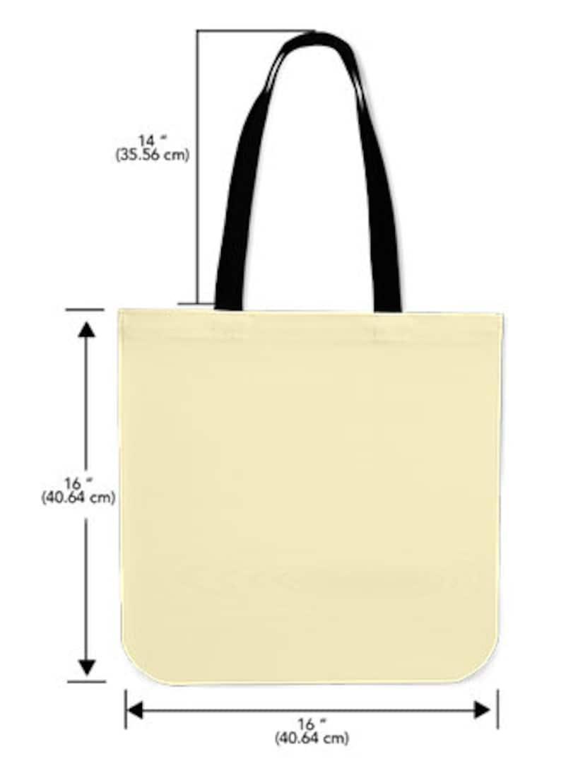 Cloth Tote Custom Premium Poly Cotton Tote Bag Double-Sided Print Nurse Tote Bag