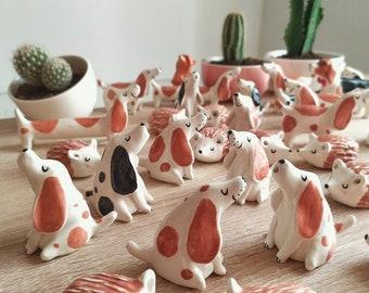 Ceramic Hedgehog Handmade Glazed Cute Animal Decorative Sculpture. Ready to Ship!