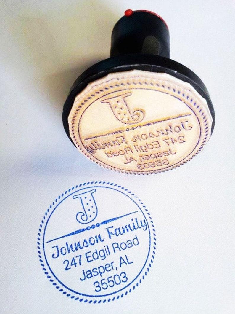 Personalized Self Inking Return Address Stamp self inking address stamp Custom Address Rubber Stamp AI 33 Return address stamp