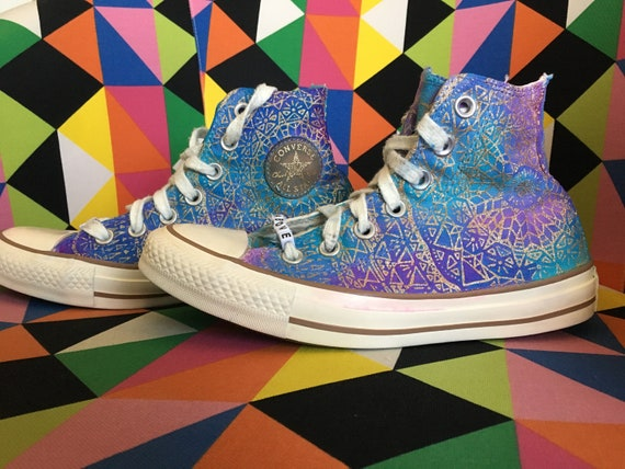Size 4 Rise Above High Top Converse | Etsy