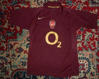a9c961223 Rare Arsenal 2005 06  11 v. PERSIE Home 29 Highbury NIKE M O2 shirt jersey  05