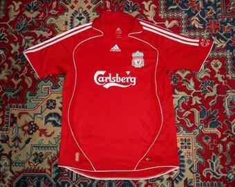 b95d6e6cb Liverpool FC 2006 008 HOME 25 Adidas L shirt jersey 06 08