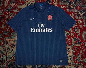 fb1cad602 Mint Arsenal London 2009 10 Away 15 Nike 3XL XXXL shirt jersey 09 Navy