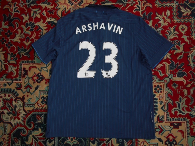 low priced 59650 d876b Rare Arsenal London 2009/10 #23 ARSHAVIN Away 2 NIKE XXL shirt jersey 09  Navy Андрей Аршавин