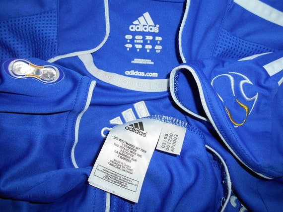 Chelsea London 200608 ADIDAS S HOME 3 shirt jersey 06