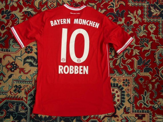 bayern münchen 2013 14 10 robben home 27 adidas 176 s shirt jersey trikot 13 cc 3.6 trikotsatz c 36 #3