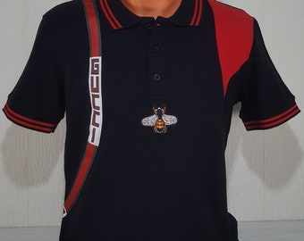 cbaae391 Men's Gucci Polo T-shirt with embroidery