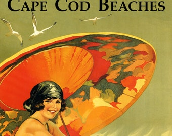 POSTER MERMAID MEET ME AT THE BEACH FORT LAUDERDALE TRAVEL VINTAGE REPRO FREE SH