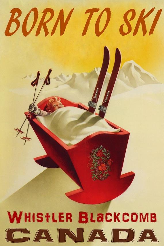 Austria Ski Sport Blonde Girl Travel Trip Vintage Poster Repro FREE S//H in USA