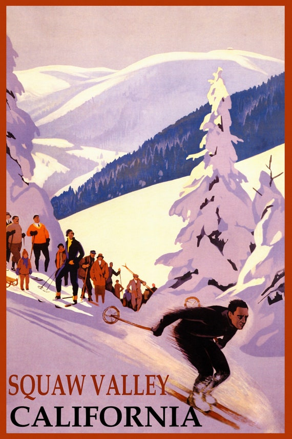 Anton Austria Skis Racing Sport Vintage Poster Repro FREE S//H Skiing Ski in St