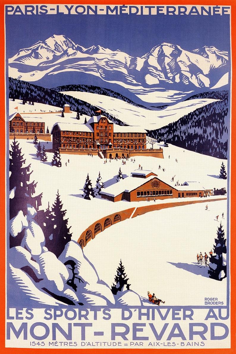 Mont-Revard poster