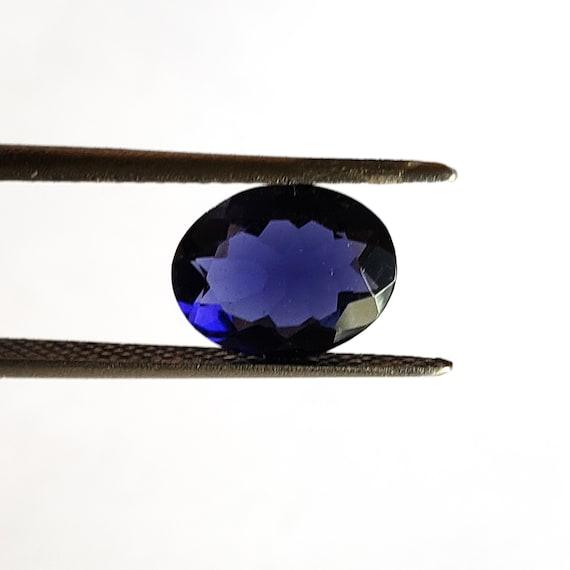 15 Natural Iolite Princess loose faceted gems 3mm each
