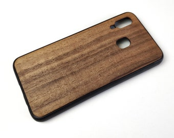 Samsung A40 wooden case, Samsung galaxy A 40 eco case, Samsung wooden cover, personalised case Samsung galaxy real wood protective case