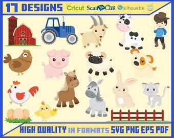 Farm animals | Etsy
