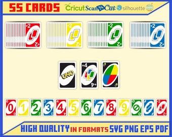 photo regarding Printable Uno Cards identified as Uno png Etsy