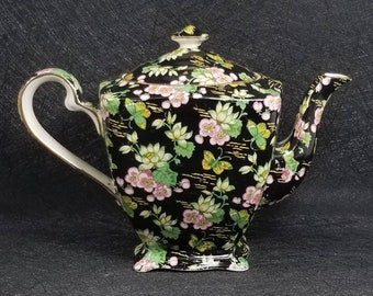 Vintage Royal Winton Grimwades Orient Chintz Teapot England