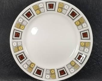 Vintage Kathie Winkle Design for Broadhurst Rushstone Dinner Plate(s) England