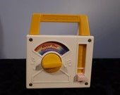 Vintage Fisher-Price Somewhere Over the Rainbow music box