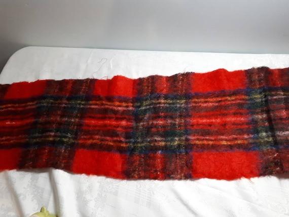 Vintage Stewart Tartan scarf