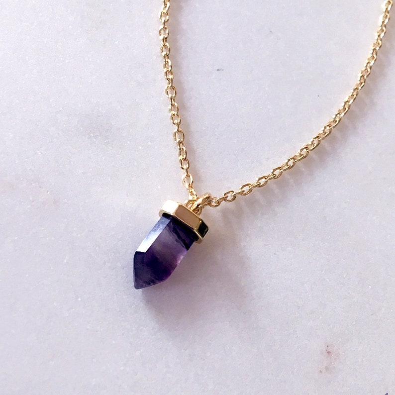 Simple Everyday Necklace with Tiny 14k Gold Filled Chain Blue Aventurine Necklace Small Pendant Necklace