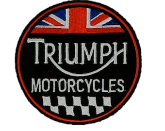 Vintage Style Triumph Patch