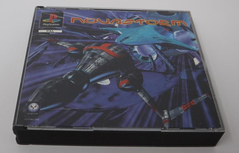 Vintage 1995 90s Playstation 1 PS1 Novastorm Video Game Pal Version 1 Player