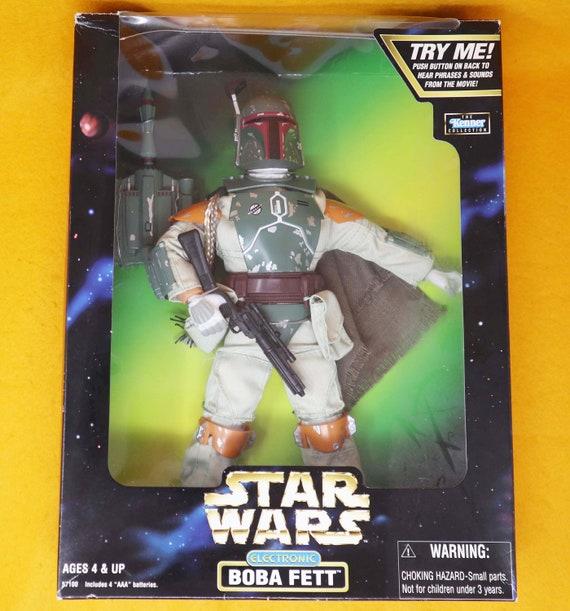 "Kenner 1998 Star Wars Boba Fett 12/"" Electronic Action Figure NIB"