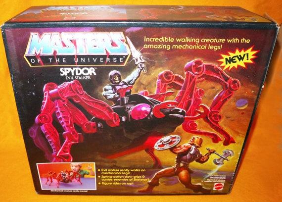 Vintage MOTU He-Man Masters Of The Universe Spydor Part