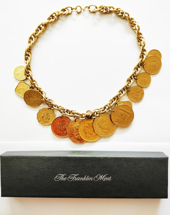 Franklin Mint - The Golden Caribbean Necklace - Or