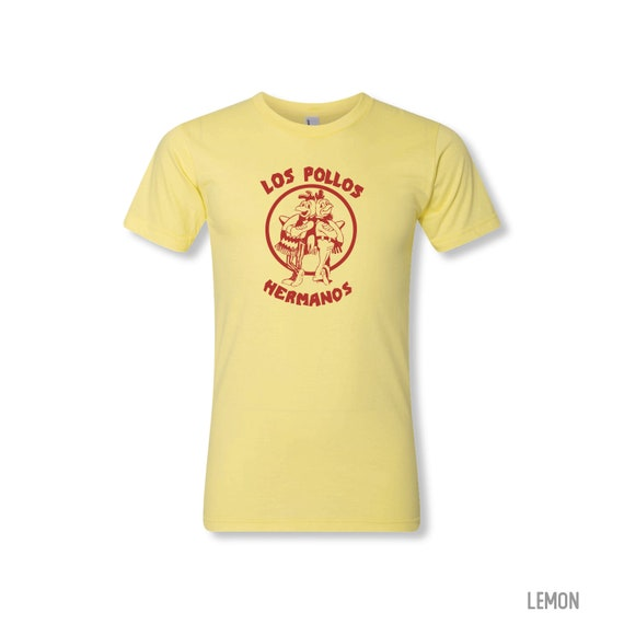 LOS POLLOS HERMANOS Shirt - Mens/ Unisex American Apparel Fine Jersey Tee - made in the usa - all colors and sizes including youth