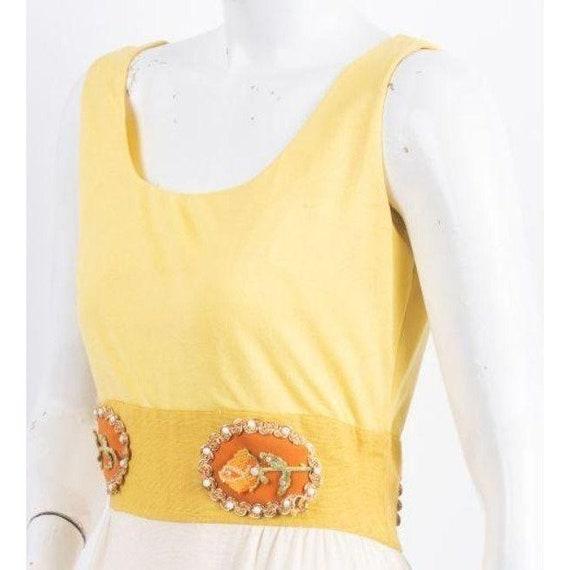 1970's Alice John Rogers Maxi Dress Women's XS/S … - image 5