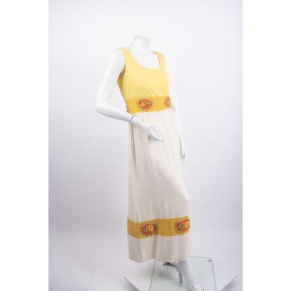 1970's Alice John Rogers Maxi Dress Women's XS/S … - image 2