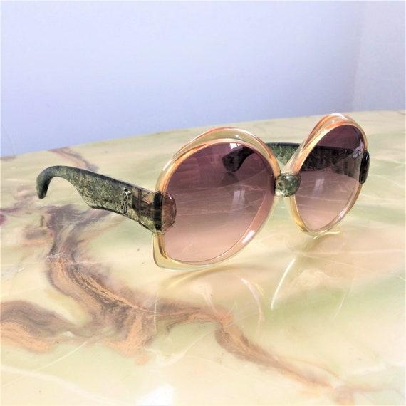 1970s YSL Oversized Sunglasses 651 - image 2