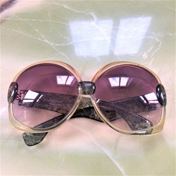 1970s YSL Oversized Sunglasses 651 - image 1