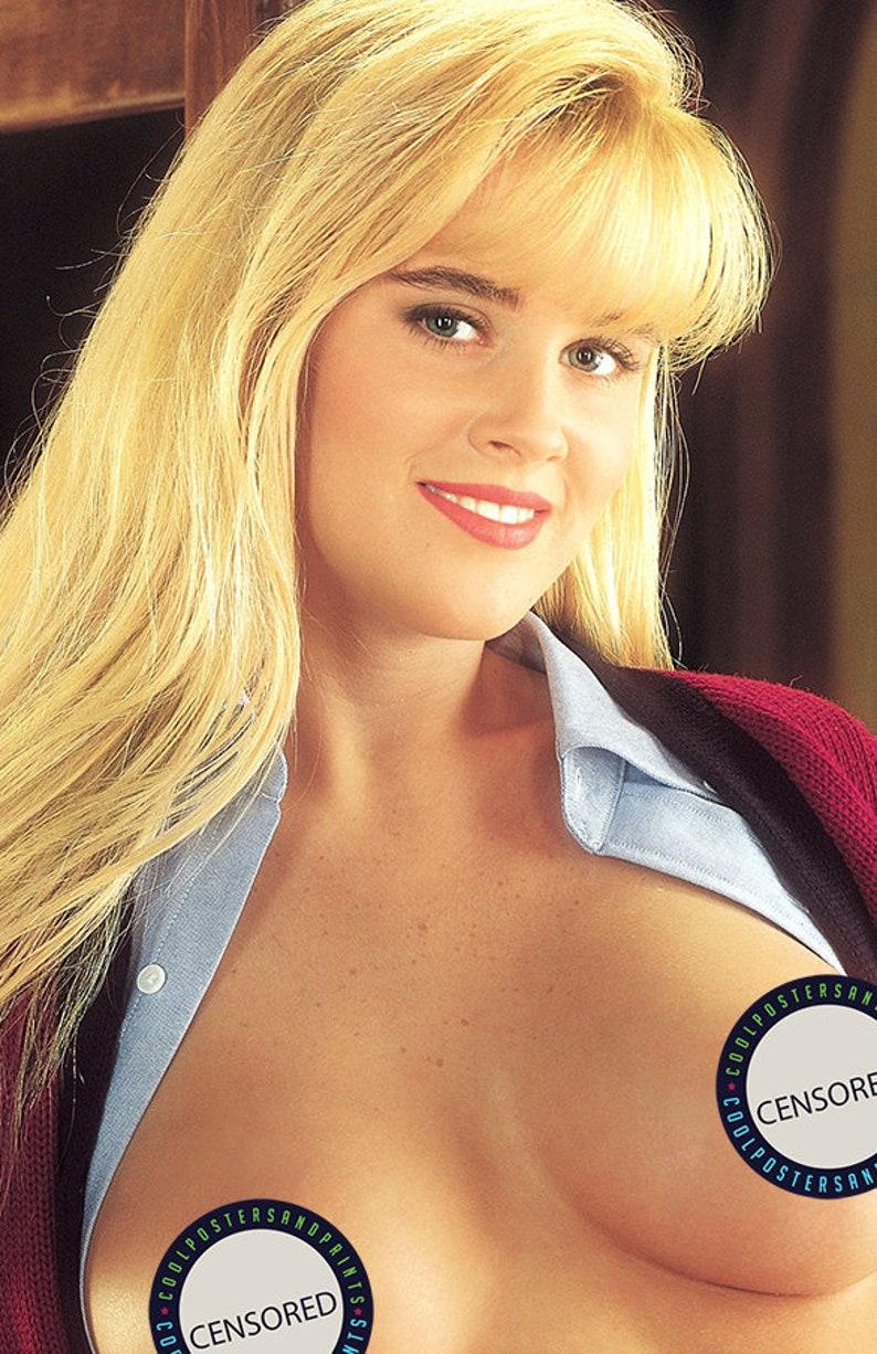 Playboy Centerfold Playmate. Jenny McCarthy POSTER | Etsy